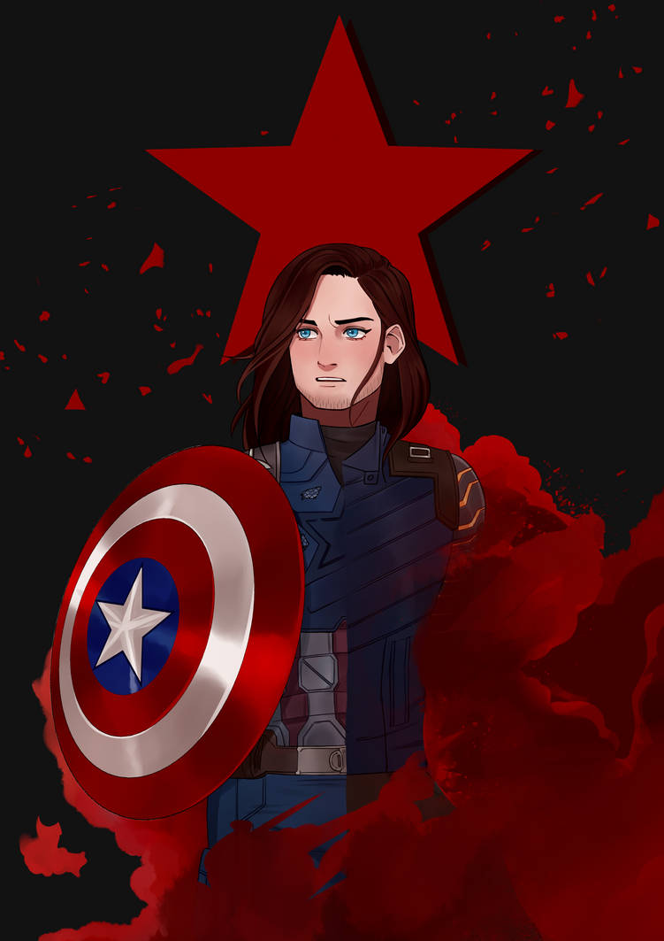 fanart // bucky barnes by dorkcoffee on DeviantArt