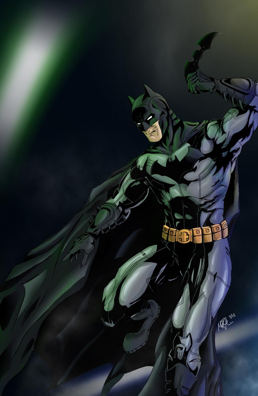 Batman - New 52 by Vail-Akatosh on DeviantArt
