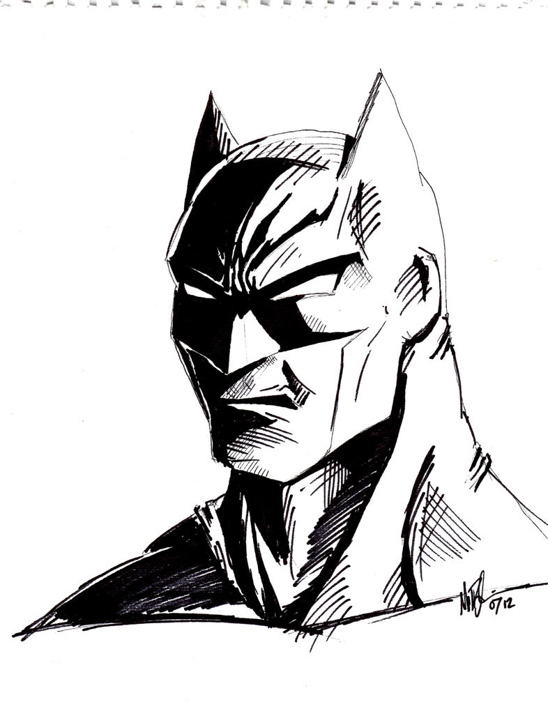Batman Sketch by Vail-Akatosh