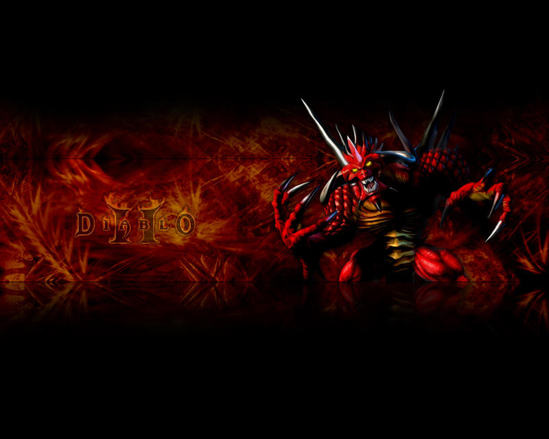Diablo 2 wallpaper by re-pip