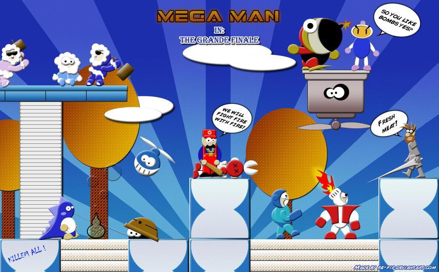 Mega Man Grande Finale by re-pip