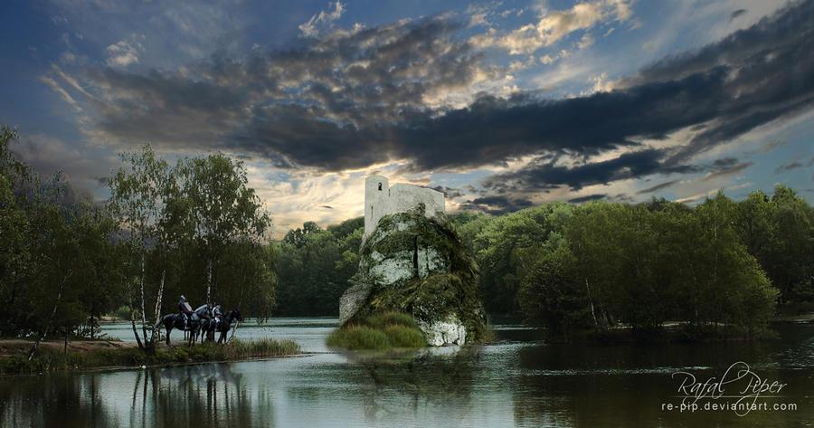 Stronghold Island (Castle in Smolen) by re-pip