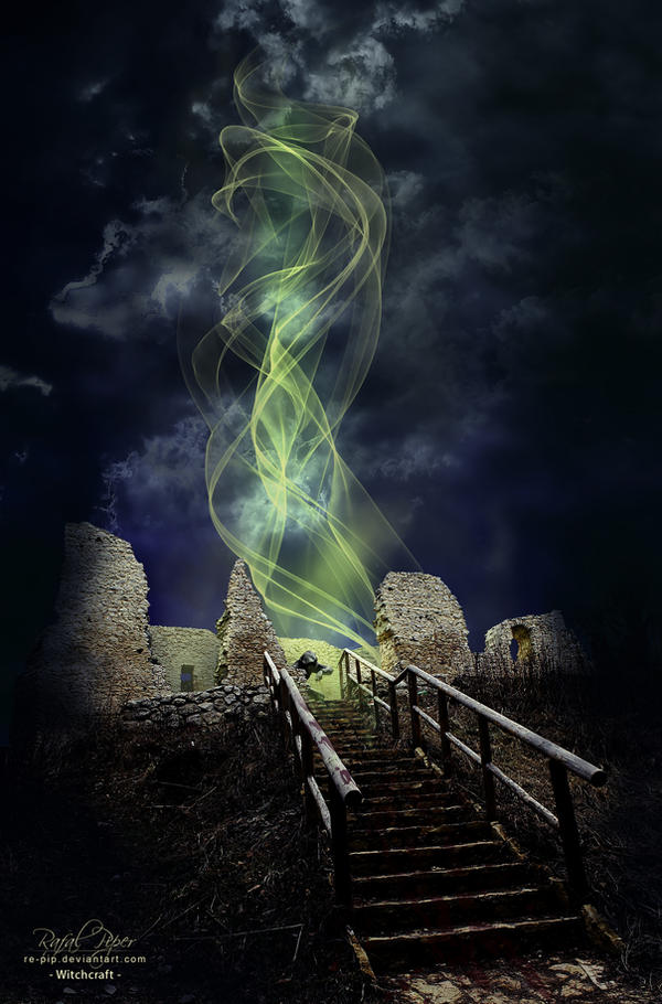 Witchcraft (Castle in Bydlin) by re-pip