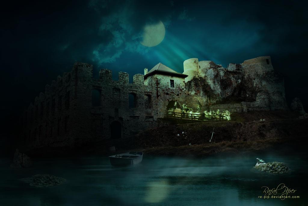 Ghost Garrison (Castle in Rabsztyn) by re-pip