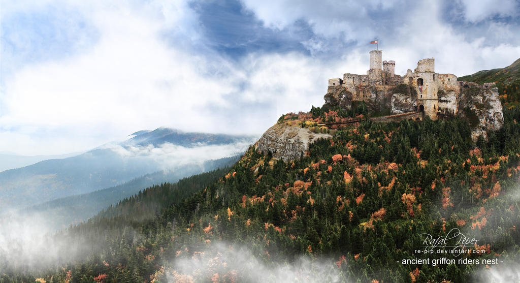 Ancient Griffon Riders Nest (Castle Ogrodzieniec) by re-pip