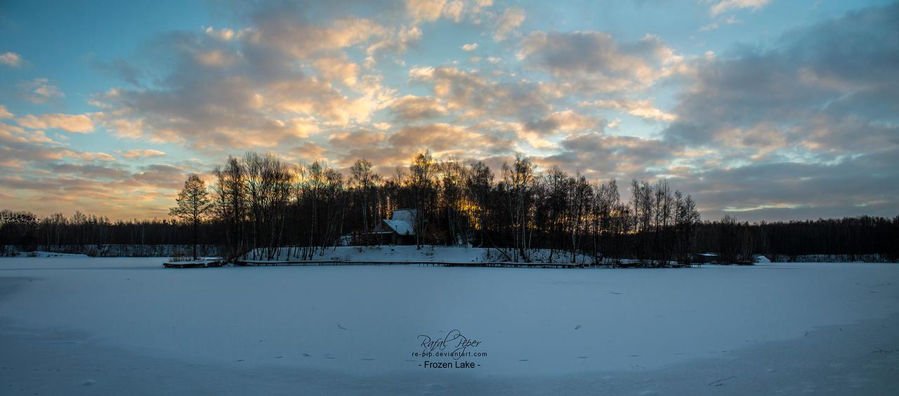 Frozen Lake by re-pip