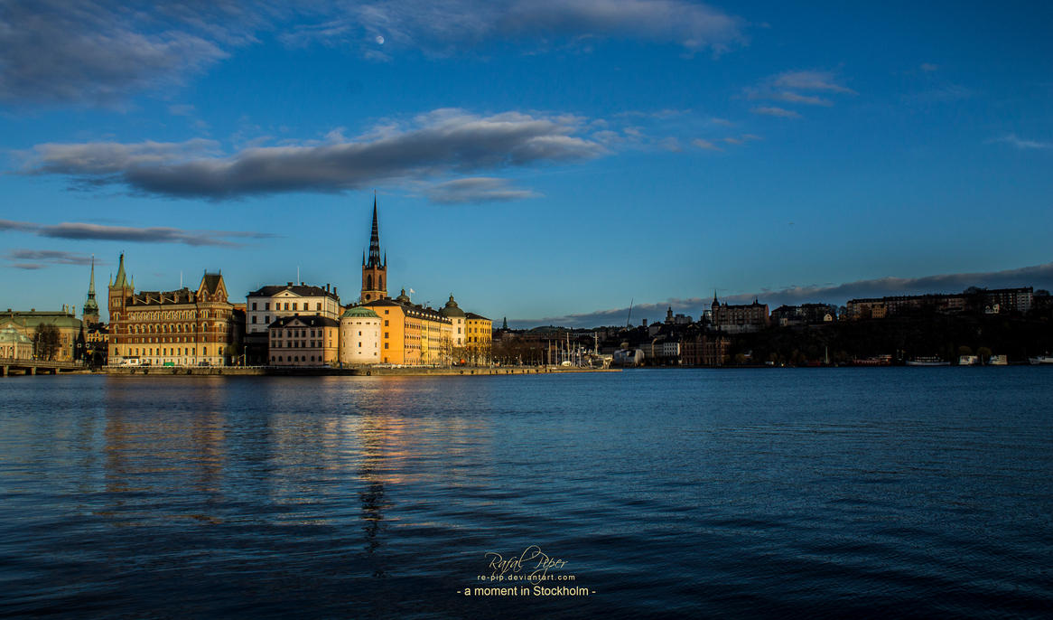 a moment in Stockholm by re-pip