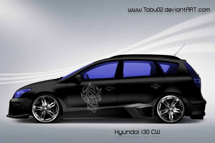 hyundai i30 cw by tobu02 on deviantart. Black Bedroom Furniture Sets. Home Design Ideas