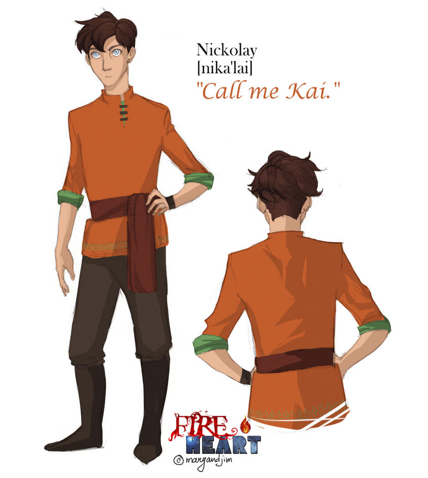 Meet the character - Kai (Nickolay) by MaryandJim