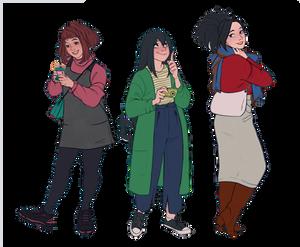 ladies of 1-A