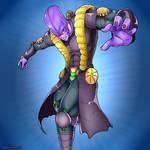 Hitto's final form ( Hit and Za Warudo fusion )