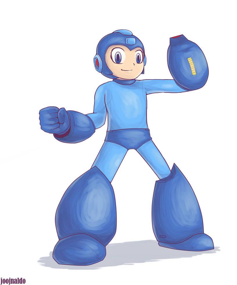 Megaman by Joojnaldo