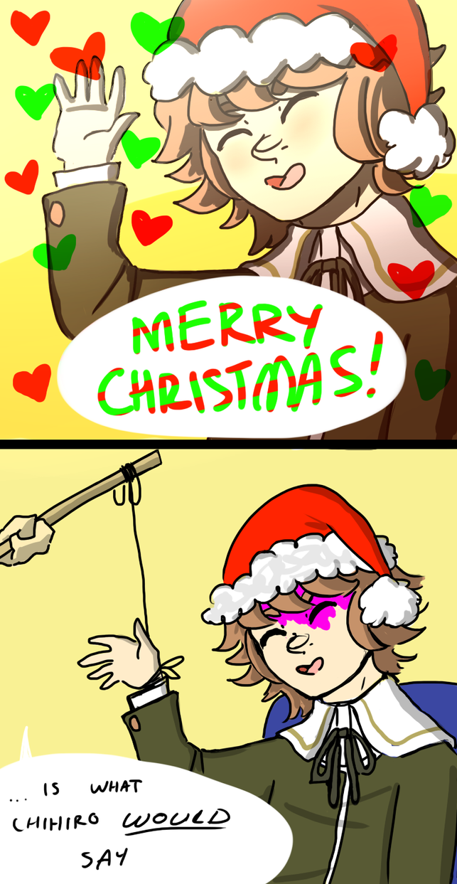 Dangan Ronpa] (spoilers oops) Merry Christmas! by rizurei on ...