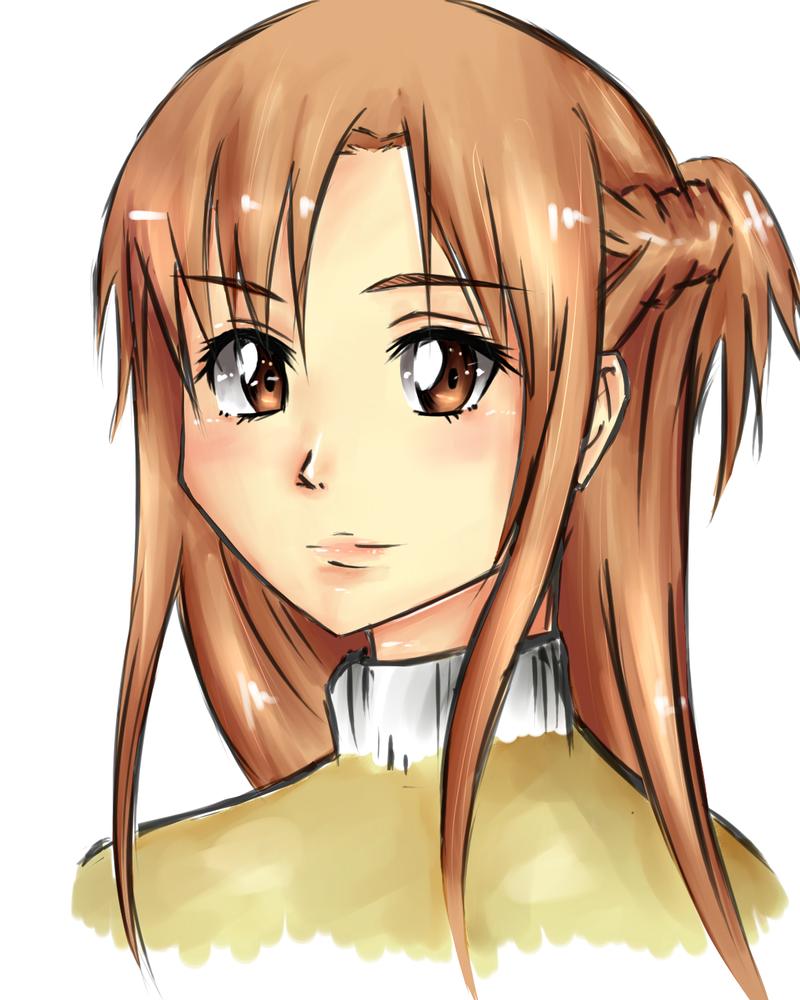 Asuna by Teplyshko-chan