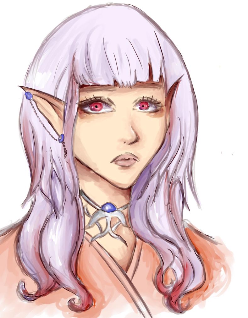 elf by Teplyshko-chan