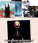 Marionette, Stop Ripping Off People