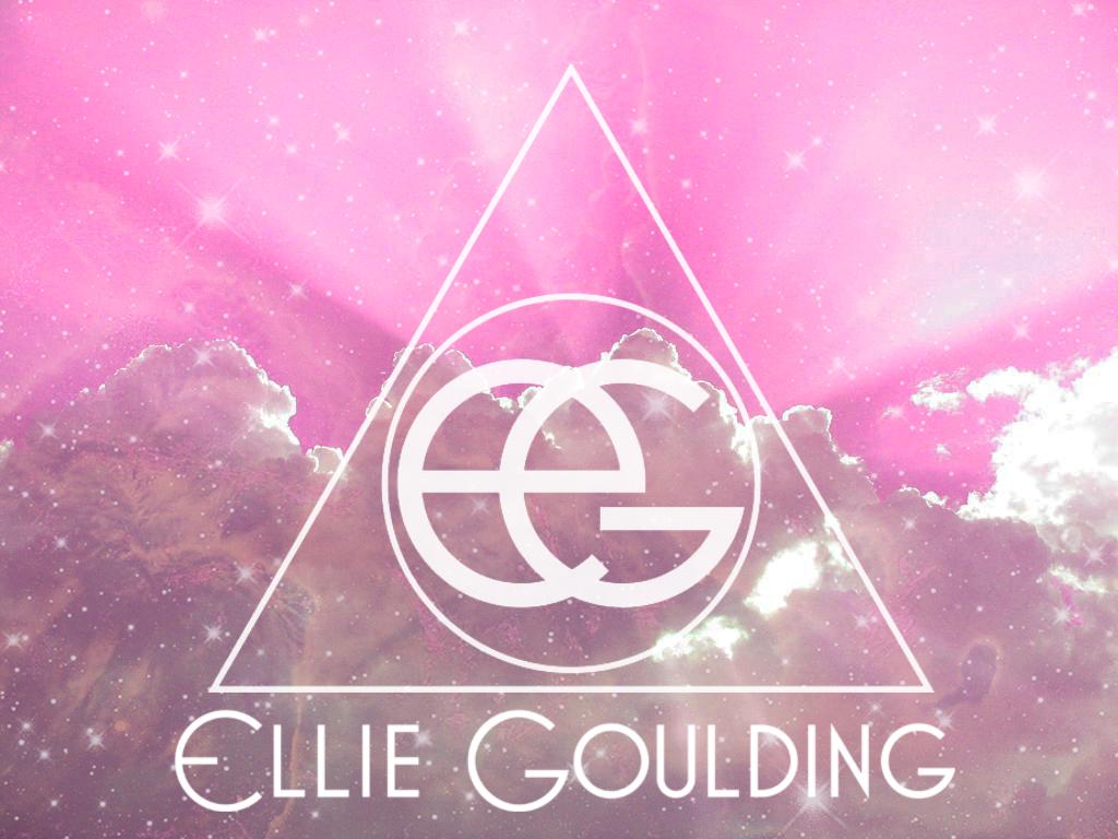 ellie goulding - logo mistical pink