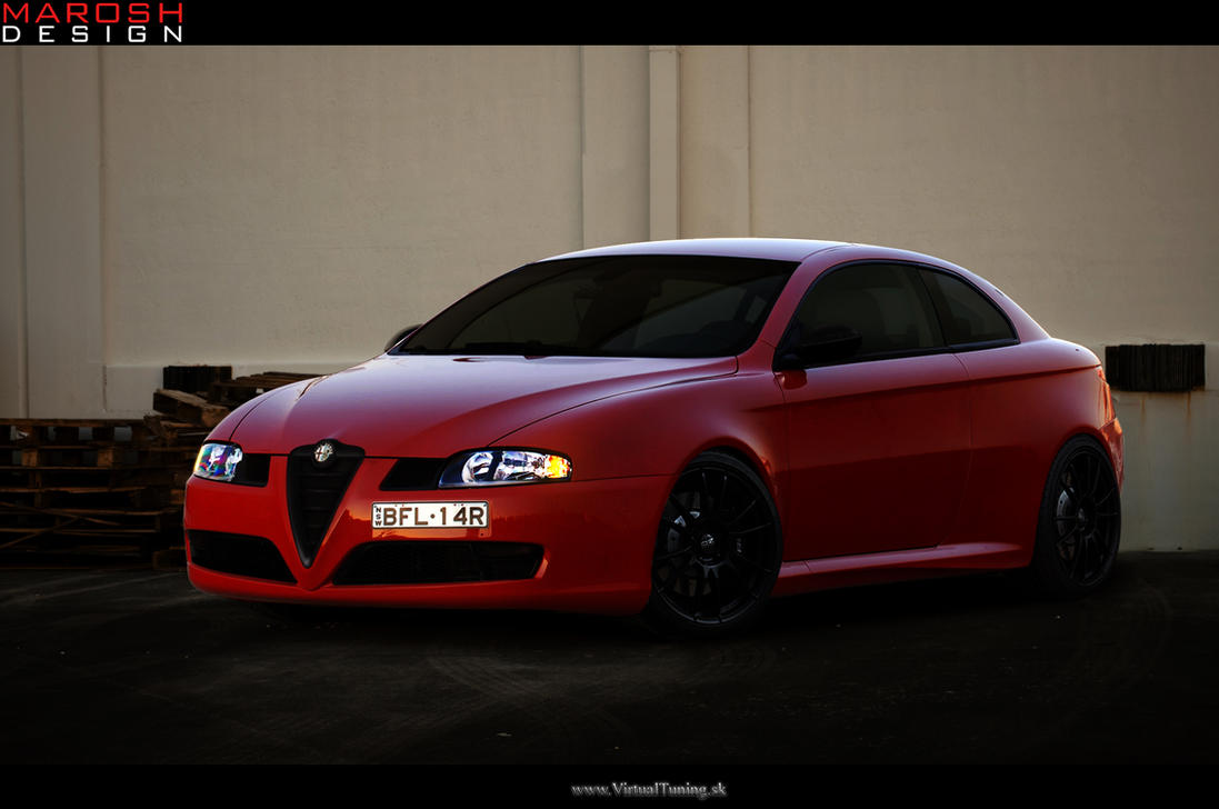 alfa romeo gt by marosh design on deviantart. Black Bedroom Furniture Sets. Home Design Ideas