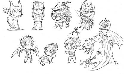 Legion Costumes by Sionid