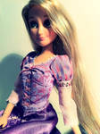 i heart my rapunzel doll