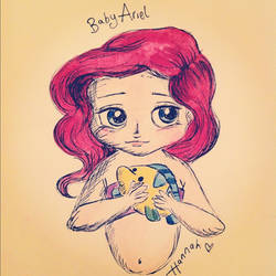 Baby Ariel by jacobgirl123