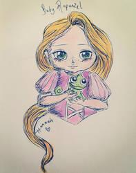 Baby Rapunzel by jacobgirl123