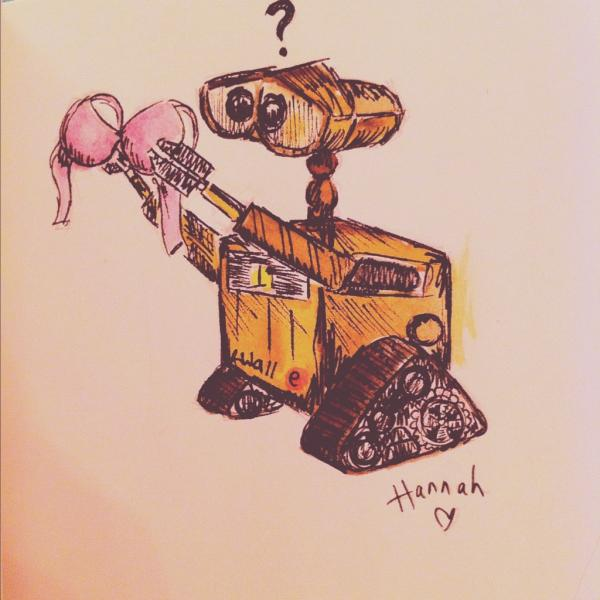 Dear, sweet, innocent little WALL-E by jacobgirl123