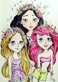 Hipster Princesses