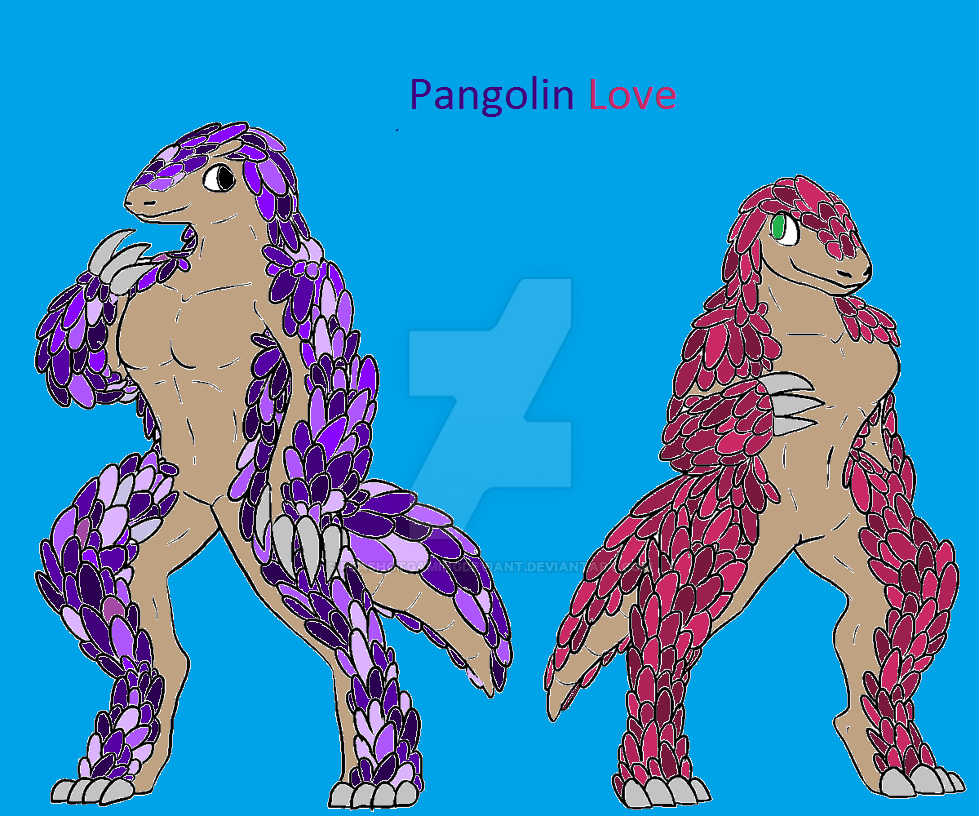 Anthro Pangolin Base by samalamb-bases on DeviantArt