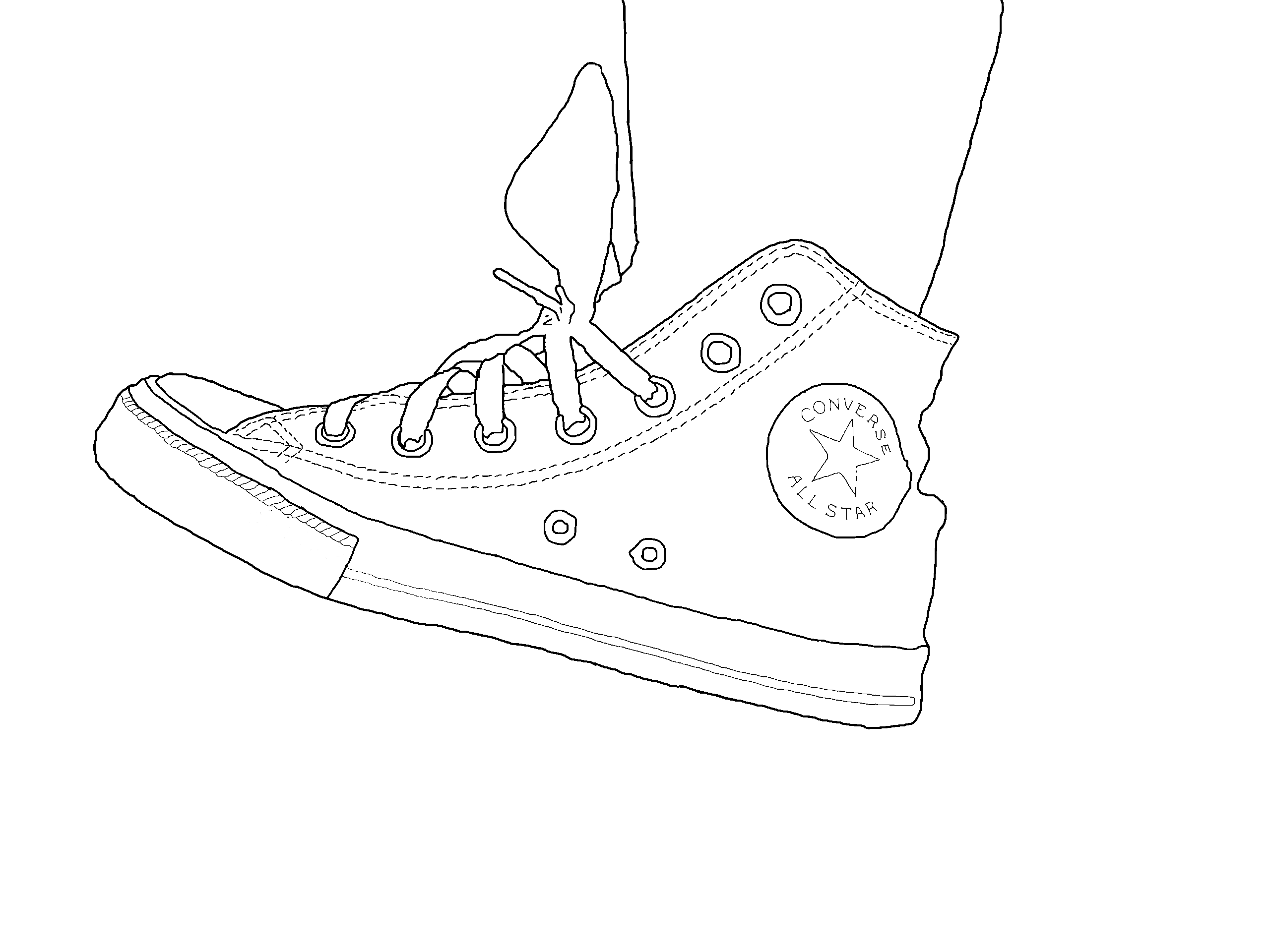 How to Draw on Canvas Shoes even If Youre Not an Artist