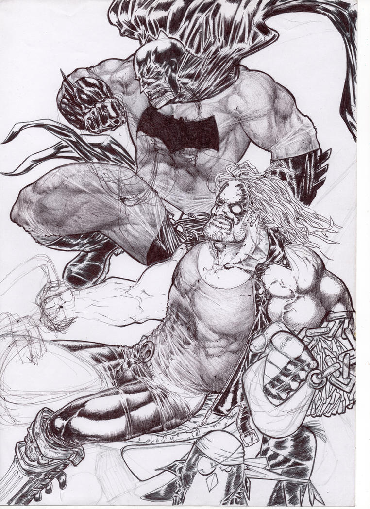 Lobo\Batman (Superfriends) by AgostinoF