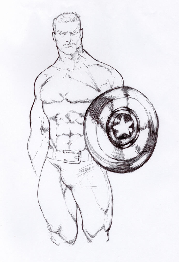 CAP Sketch by AgostinoF