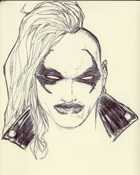 She-Lobo QuickSketch Scanned by AgostinoF