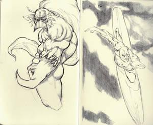Sketching On Moleskine