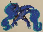 Sharpie Art- Princess Luna