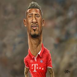 Jerome Boateng Caricature