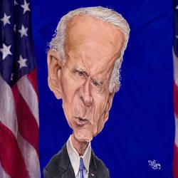 Joe Biden Caricature