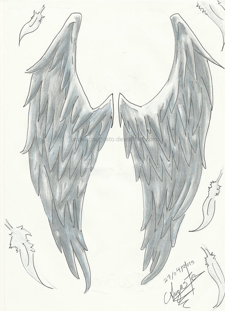 Angel Wings For My Friend by UndeadAugusto