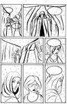 Fairy Prince Comic Page Inked