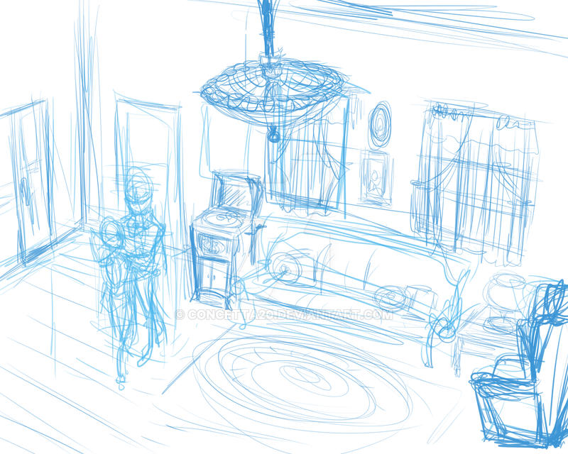 Ivory Bandstand Splash Page WIP by Concetta20