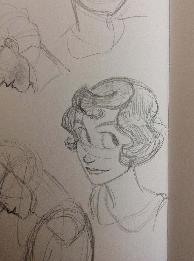 Edith sketch by Concetta20