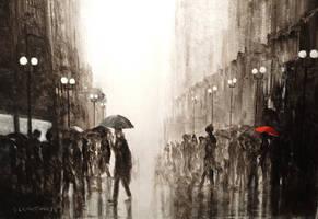 Red Umbrella  2 by glcolthorpe