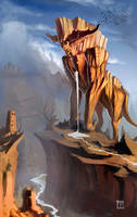 Canyon Elemental by ArtofTy