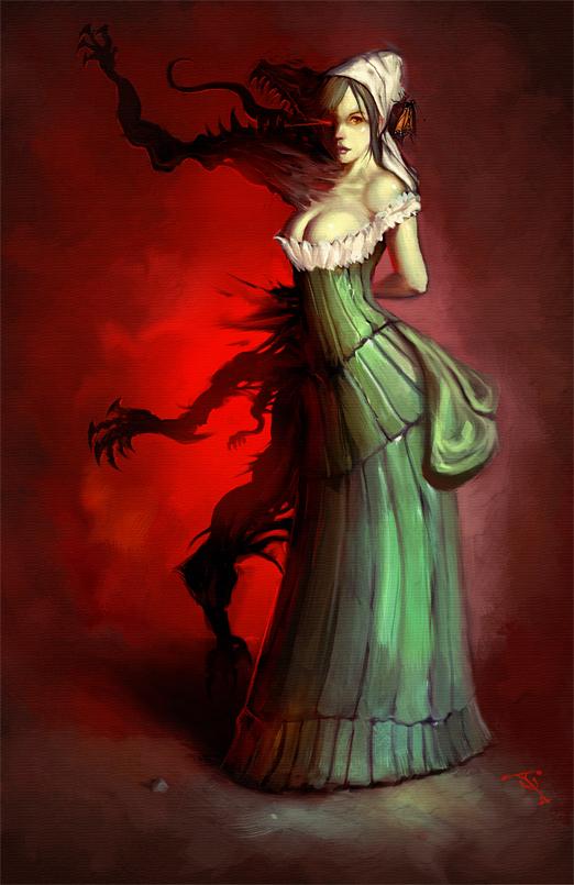 Mrs. Hyde by ArtofTy