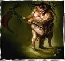 Boar Demon by ArtofTy