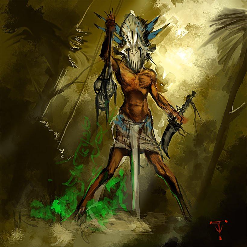 Witch Doctor By Artofty On Deviantart