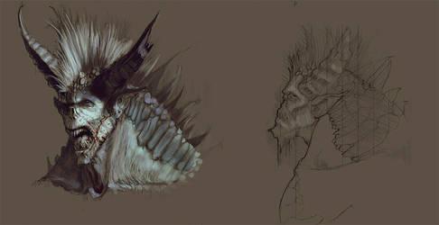 Aquatic Demon by ArtofTy