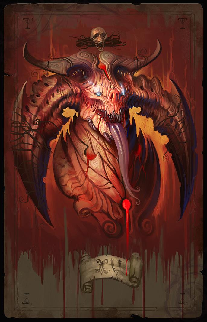 Major Arcana XV By ArtofTy On DeviantArt