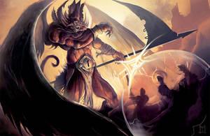 Demon Ward by ArtofTy