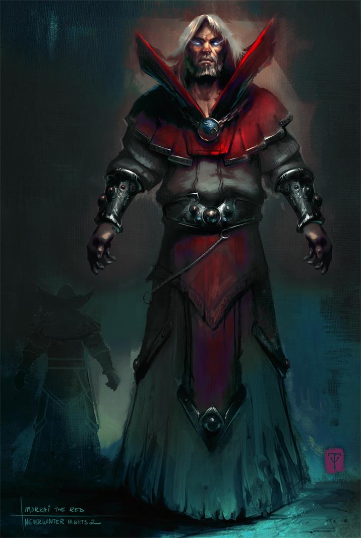 Morkai the Red by ArtofTy on DeviantArt